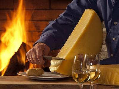 Schweizer Bio Raclette Käse