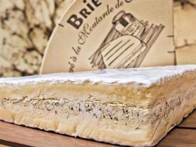 Brie de Meaux AOC à la Moutarde de Meaux