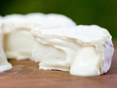 Eifelmilde mit Weißschimmel Ziegenkäse