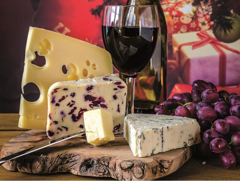 Ulrike Baumann's Käsespezialitäten - Weihnachts-Gruss